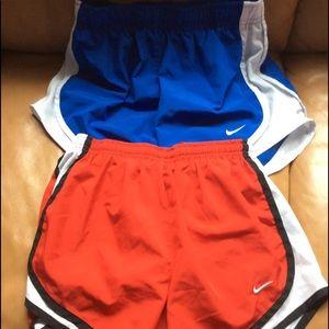 2 Nike DriFit Shorts